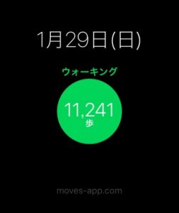 moves(歩数)