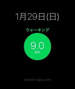 moves(距離)